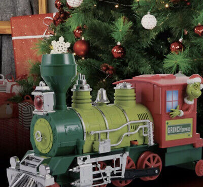 Dr Seuss The Grinch Christmas Conductor Train Collector Car Series Bump And Go