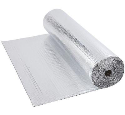 Mps Single Bubble Layer Aluminum Foil Insulation 316 48 X 125ft 500 Sqft