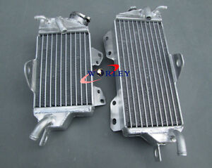 For Kawasaki KX125 KX 125 90 91 92 Aluminum Radiator 1990 1991 1992
