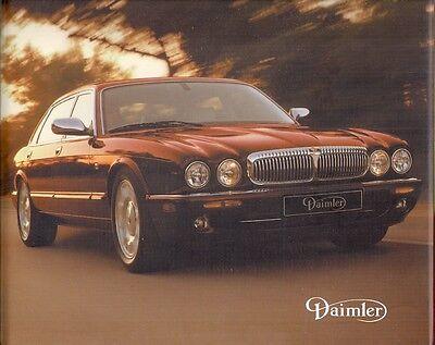 Daimler V8 4.0 Super V8 X308 2000-02 UK Market Hardback Sales Brochure