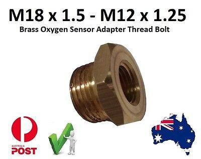 EXHAUST OXYGEN O2 SENSOR  M18 X 1.5mm - M12 x 1.25 Adapter Brass Yamaha