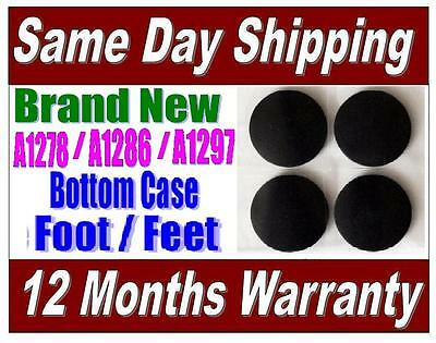 "Apple MacBook Pro 13"" 15"" Bottom Case Plastic Feet Replacement Kit Set of 4 Feet"