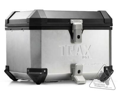 SW-Motech Trax Ion top case. Aluminium Silver 38L Aluminum Top Case