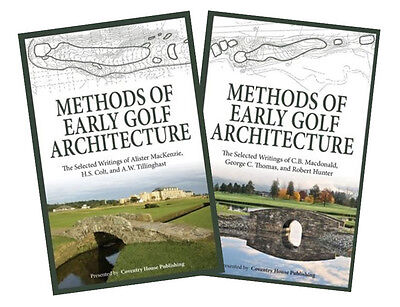 (2) Methods of Early Golf Architecture Books - VOLUMES 1 AND 2