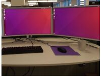 "Great 32"" HD curved monitors"