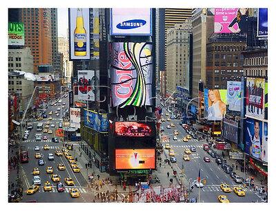 (NYC ART PRINT - Times Square, New York City by JOSE FUSTE RAGA Photo Poster)