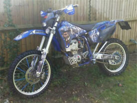 Yamaha YZ426F 2001 road registered