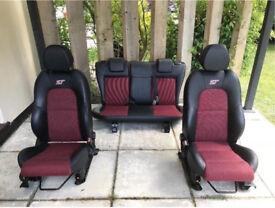 Mk6 st interior seats