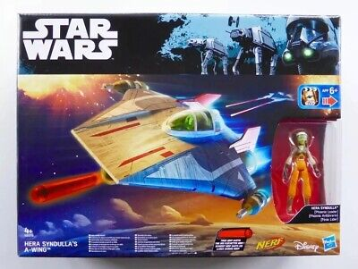 STAR WARS REBELS A-WING FIGHTER HERA SYNDULLA NEW Cosmetic Box Damage FAST POST