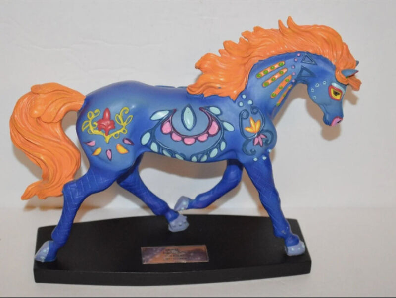 """HORSE OF A DIFFERENT COLOR """"FOLK ART"""" Item No. 20369"""