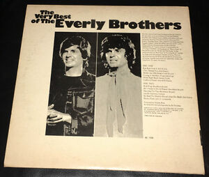 Old Records – the Everly Brothers and Kenny Rogers Kitchener / Waterloo Kitchener Area image 2