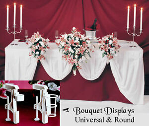 Bouquet holder for front of table