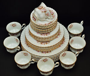 ROYAL ALBERT SPRING SONG FINE BONE CHINA DINNERWARE SET