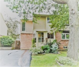 Semi for Rent in Oakville,  Falgarwood area in Cul-de-sac. Avail