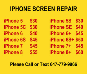 ★ Apple iPhone & iPad Screen More Repair ★