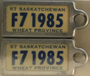 ***** WANTED --- SASKATCHEWAN WAR AMP TAGS *****