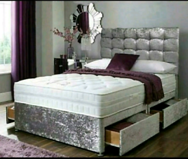 🔔 **CLEARANCE STOCK SALE** BRAND NEW DIVAN BEDS AND MATTRESS ALL 📏