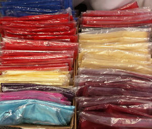 SURPLUS NEW AND USED TABLE RUNNERS AND SASHES FOR SALE