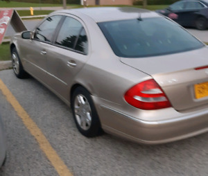 2003 Mercedes E320 brand new snows car runs and drives perfect