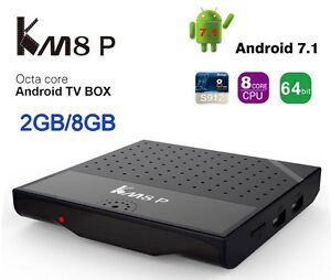 Just out!! - KM8 P Android 7.1  TV Box  with 2gb Ram - Kodi 17.1
