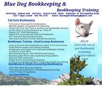 Bluedog Bookkeeping and Training QuickBooks Sage and Cloud