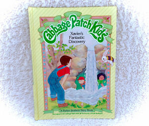 1984 Cabbage Patch Kids Xavier's Discovery Hardcover Book 80s