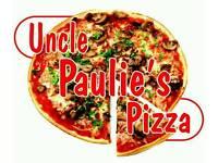 Uncle Paulie's pizza