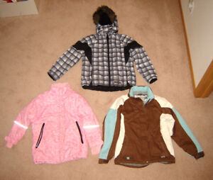 Youth's Winter Jackets - sz 14, L, 16, Ladies S, Jeans sz 0 to 5