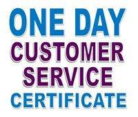 WorldHost Customer Service Certificate Workshop - April 29