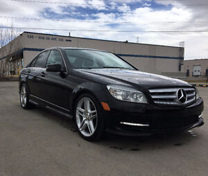 2011 Mercedes-Benz C-Class C350 4Matic AMG w/18 Wheels
