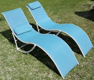 Four Pool Deck / Lounge Chairs