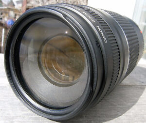 Canon EF 75-300mm f4-5.6 III USM Zoom Lens with Close Focus VGC