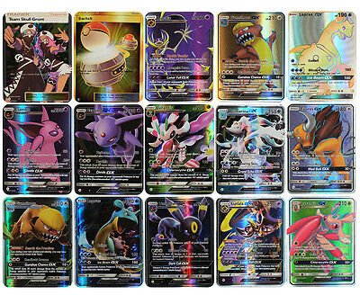 Pokemon 60 Card Holo Flash 25 Gx Cards Sm Sun Moon Solgaleo 35 Ex Mega Fusion