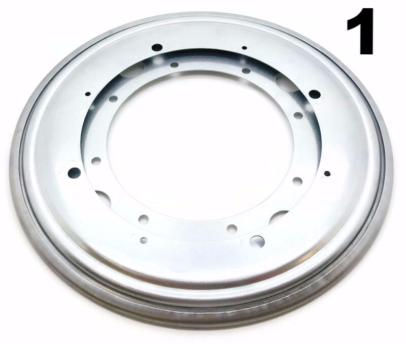 One 12″ Inch Lazy Susan Round Turntable Bearing – 5/16 Thick & 1000 LB Capacity Bearing & Bushing Parts