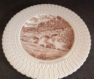 Vintage Ludlow Castle and Dinham Bridge Plate Regina Regina Area image 1