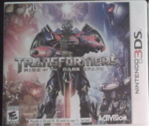 Transformers Rise of the Dark Spark for 3DS