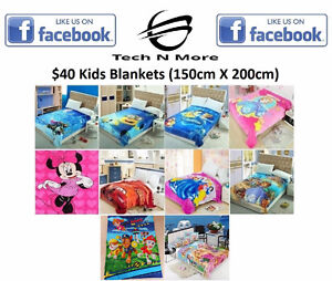 Kids Blankets (10 Options)