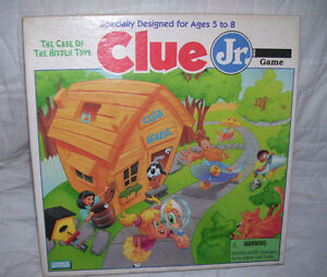 1995 Original Clue Jr.--Case of the Hidden Toys