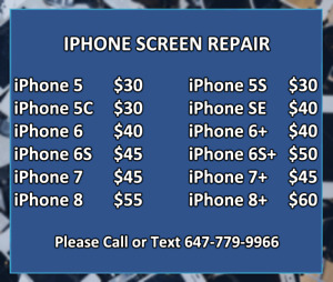 ★Apple iPhone★iPad★Samsung Galaxy★Note Phone Screen Repair