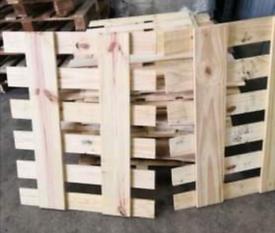 Wooden pine type pallet tops