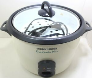 Black & Decker Rice Cooker Plus - RC550 Type 2