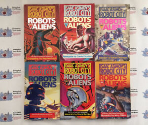 """""""Isaac Asimov's Robot City: Robots and Aliens"""" Complete Series"""