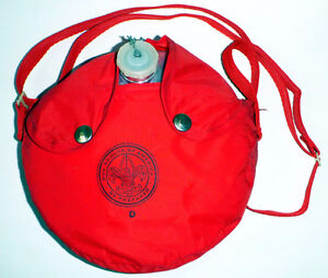 Vintage Gourde Boy Scout of America 2.5 L Water canteen