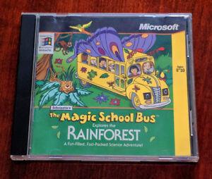 Scholastic's The Magic School Bus Rainforest,  PC Win95/NT Game
