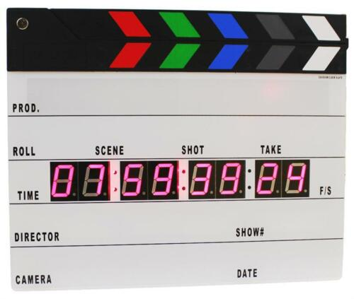 Cavision Next-gen Clock Slate PLUS with Strobe Light, FPS Settings & Stopwatch