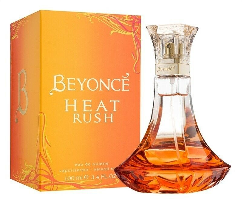 New Boxed 100ml Beyonce Heat Rush Edt Perfume Spray In