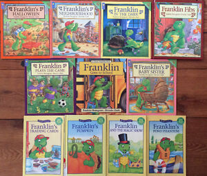 FRANKLIN books $2 each or all 11 for $20