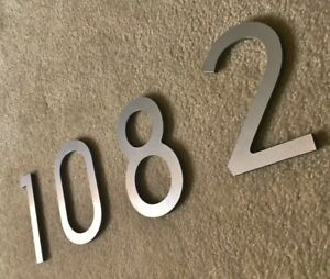 6 INCH ALUMINUM ADDRESS NUMBERS