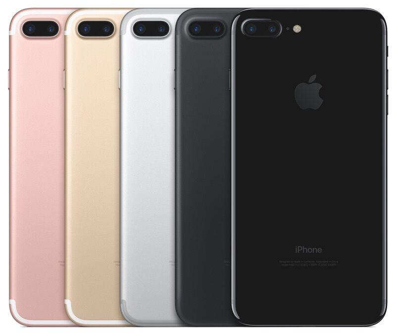 Apple iPhone 7 PLUS -128GB-GSMおよびCDMA UNLOCKED-USAモデル - アップルの保証-BRAND NEW