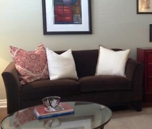Sofa Set, Pottery Barn, excellent condition, high quality